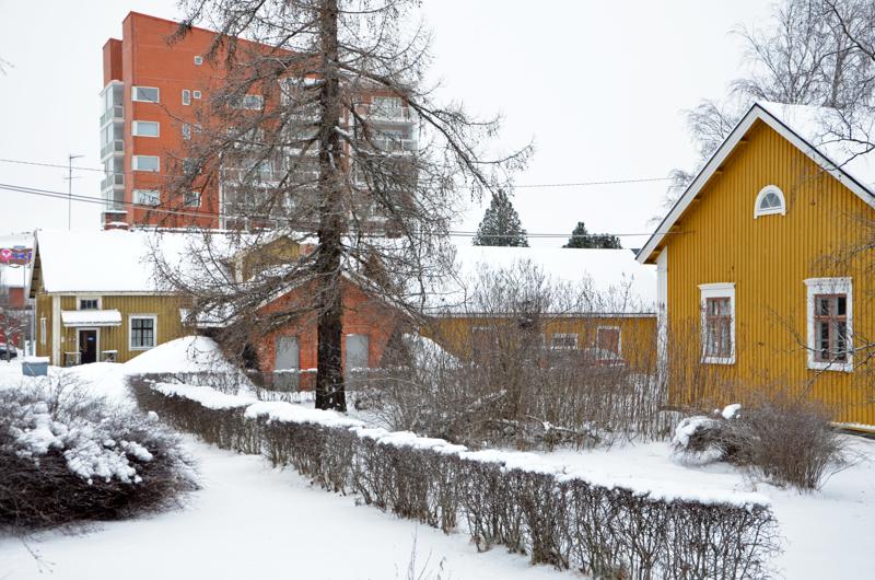 - Kasarmin hirsitalojen kunnostamiseen löytyy kyllä osaamista oman paikkaseudun hirsimiehistä ja timpureista, Raimo Anttila kirjoittaa.