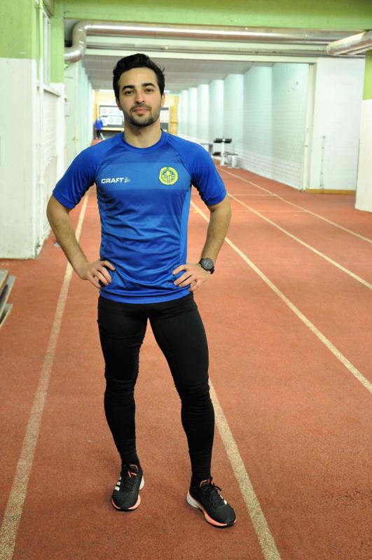 Päivittäin juoksua treenaava Mustafa Al-Jubouri opiskelee tällä hetkellä etänä ja palaa Riikaan myöhemmin.