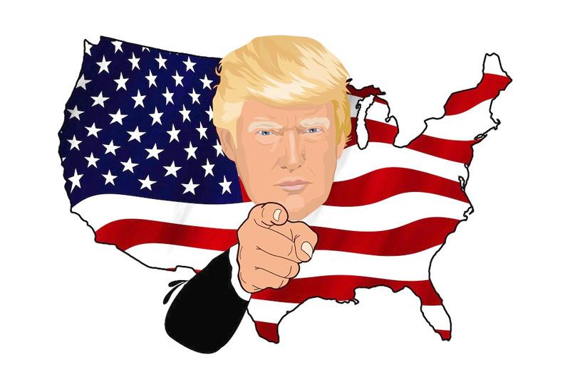 Trump ei poistu Amerikan kartalta jatkossakaan.
