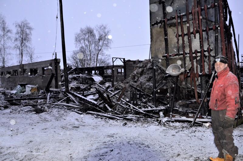 Erkki Sorvojan mukaan mitään ei ollut enää tehtävissä, kun tulipalo havaittiin.