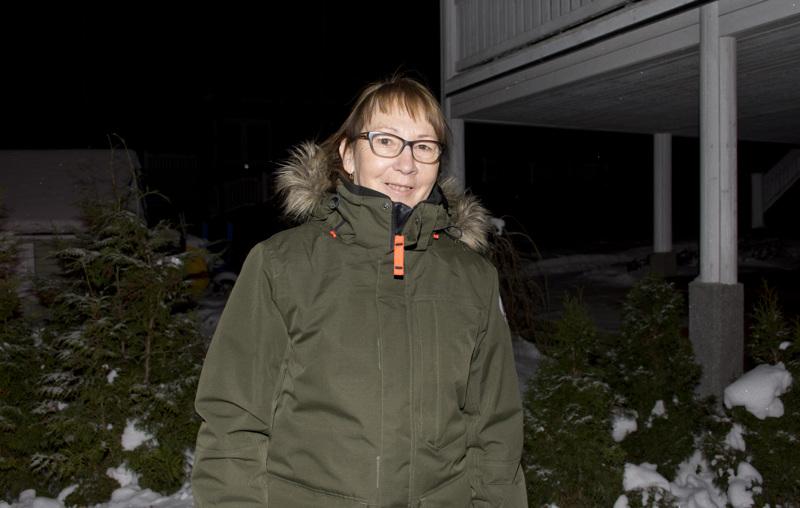 Vaikka Aunin toinen nimi on Talvikki, hän ei ole talvi-ihminen.