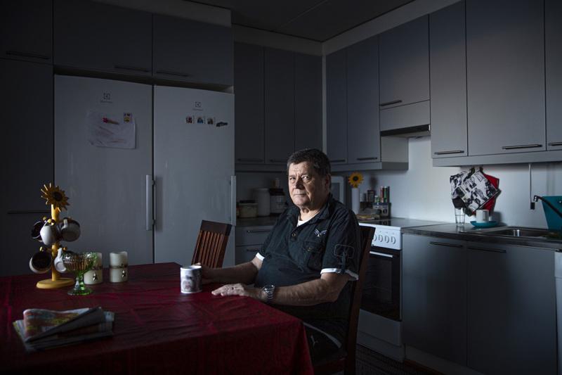 """Kauko Isotaluksella on Alavieskan ja Helsingin """"kaksoiskansalaisuus"""". Helsingissä asuva Isotalus osti itselleen muutama vuosi sitten tukikohdan Alavieskasta."""