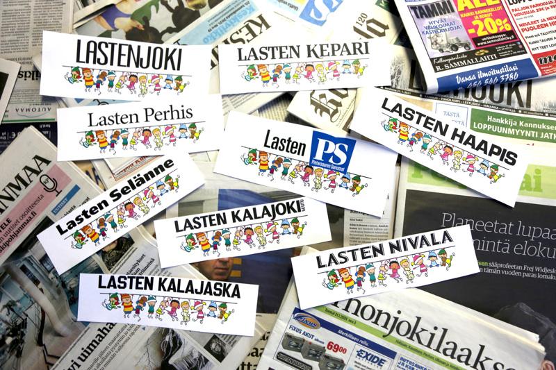Lasten lehtiä ilmestyy viikolla 4 ja 5 yhdeksän lehden liitteenä.