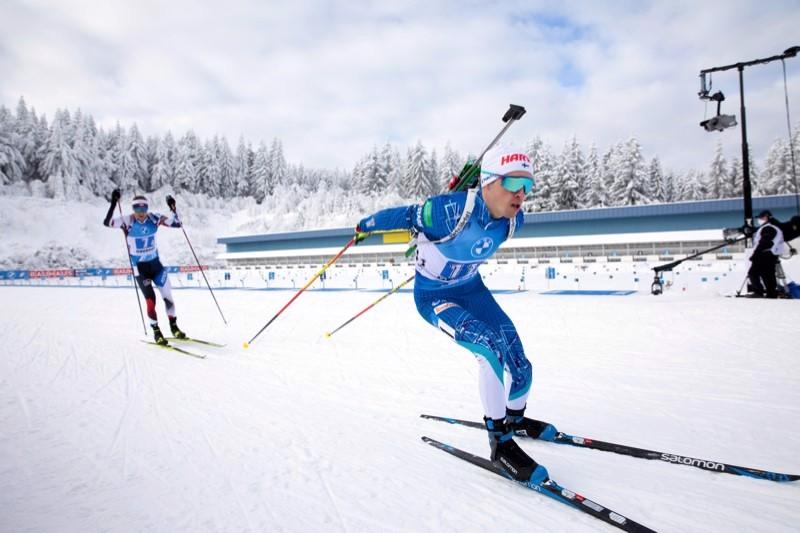 Tero Seppälä oli tyytyväinen suoritukseensa normaalimatkalla.