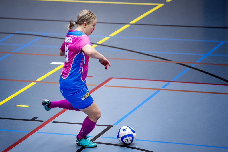 Emilia Nurkkala iski kaksi maalia lauantaina.