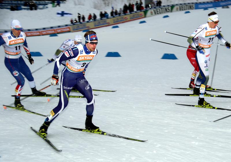 Alkutalven kotimaan kisoja hallinnut Joni Mäki oli yhdistelmäkilpailun 36:s.