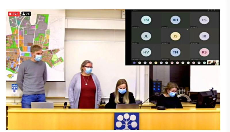 Haapaveden kaupunginvaltuuston 14.12. pitämän kokouksen videointia on PaikallisTV:n Veli Lesellin mukaan katsonut 655 eri katsojaa.
