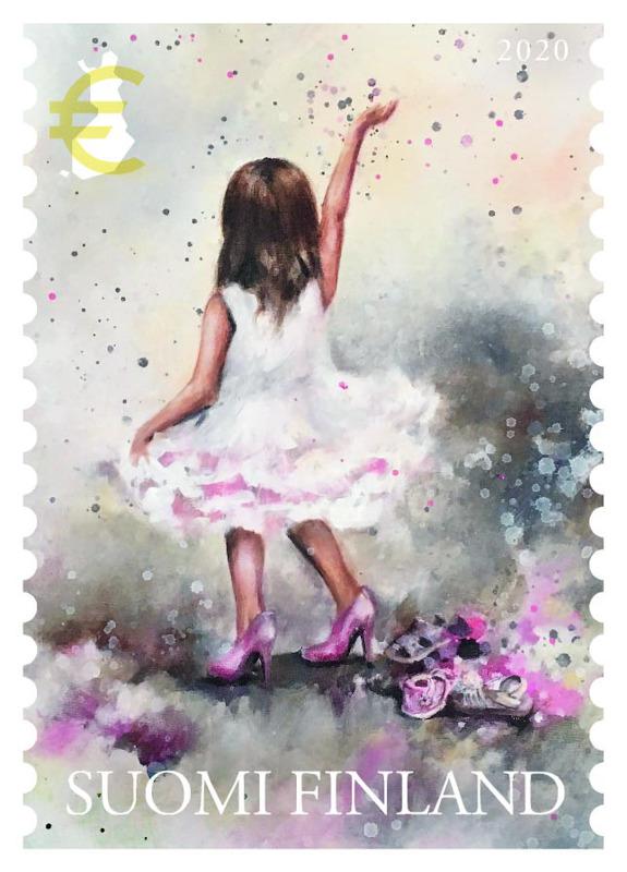 Pieni haaveilija, vuoden postimerkki.