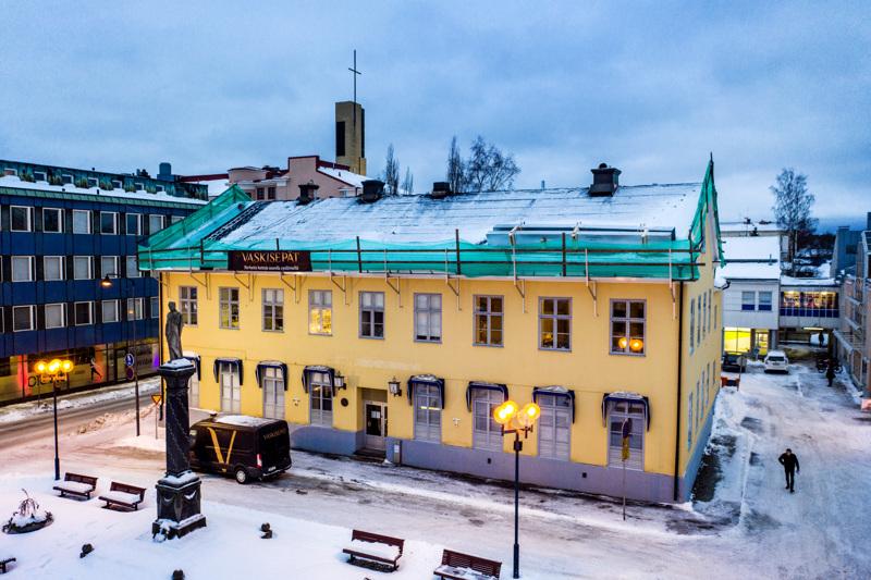 HOP:n talona tunnettu vanha Libeckin sairaala on Kokkolan historiallisessa keskustassa Mannerheiminaukiolla sijaitseva arvokiinteistö, jolla on ikää yli 200 vuotta.