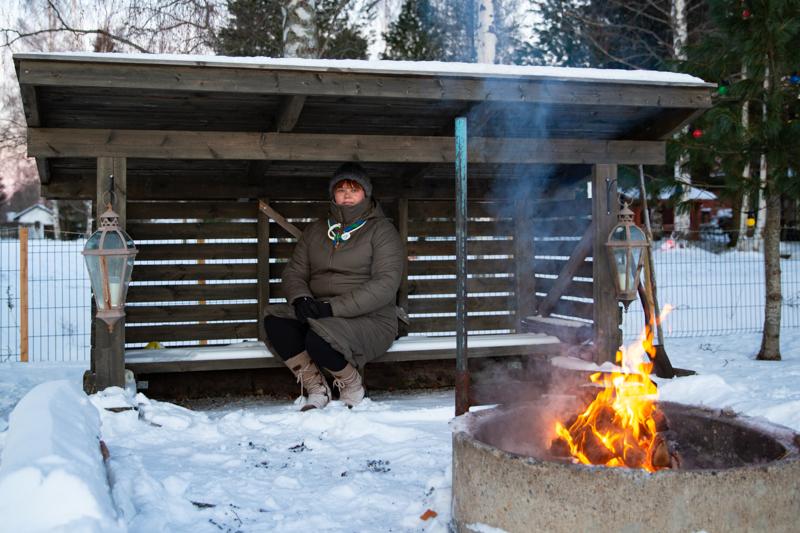 Kannuksen Korvenkävijöiden lippukunnanjohtaja Sonja Karppi kertoo, että partiotoimintaa on harrastettu heidän suvussaan jo kolmessa ikäpolvessa.