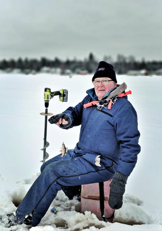 Lauri Lehdolla on kalastus veressä jo pelkästään siksi, että hän on syntynyt ja varttunut Lappajärven rannoilla.