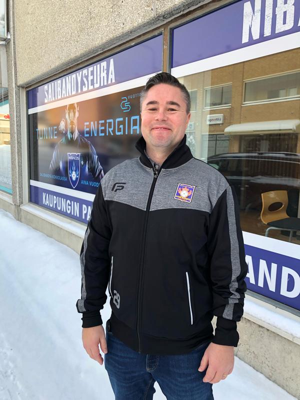 Jari Isosalo on Nibacoksen uusi seuratyöntekijä. Uudessa työssään hän aloitti maanantaina.