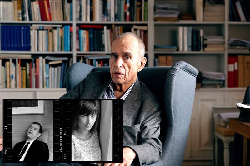 """Renessanssimies ja """"rakastettava paskiainen"""". Sisäkuvassa Donnerin ja Harriet Anderssonin potretit toisistaan 1960-luvulta."""