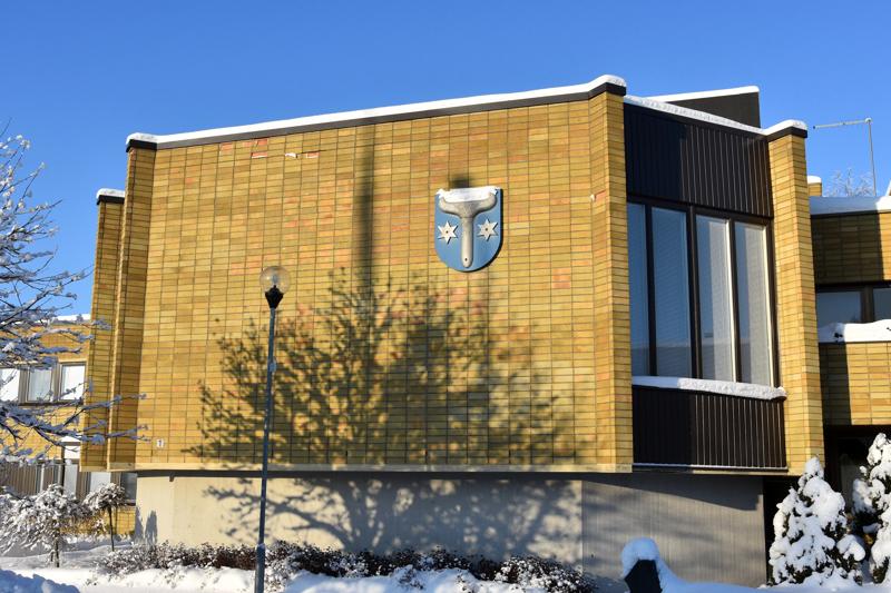 Kannuksen kaupungintalo toimii myös ennakkoäänestyspaikkana tulevissa kuntavaaleissa.