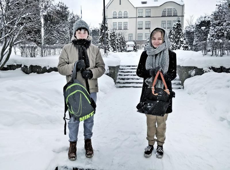 Repussa on välillä ollut liikaa painoa kuormittavien opintojen muodossa, kokevat Miska Sillanpää ja Eevi Kirsilä.