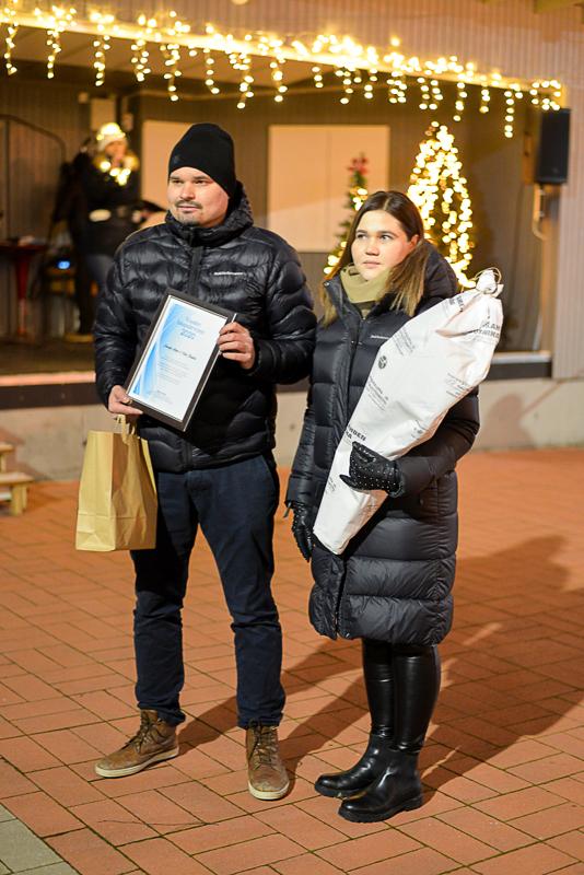 Samuli Ahola ja Viola Kantola valittiin myös Vuoden haapajärvisiksi vuoden 2020 lopulla.