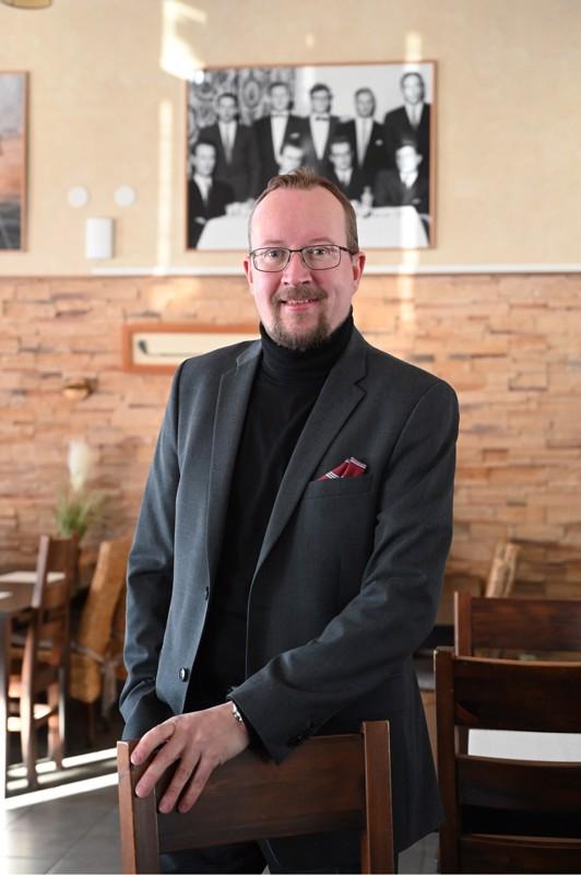 Petter Lillvik on Kokkolan Golfin uusi toiminnanjohtaja.