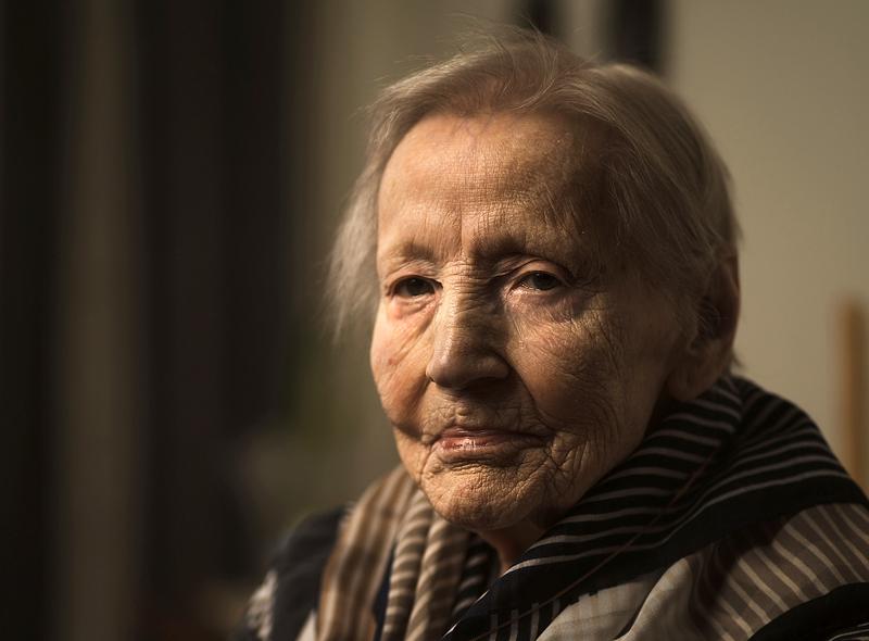 Lilja Riutta täyttää 100 vuotta. Kuvan on ottanut hänen lapsenlapsensa.