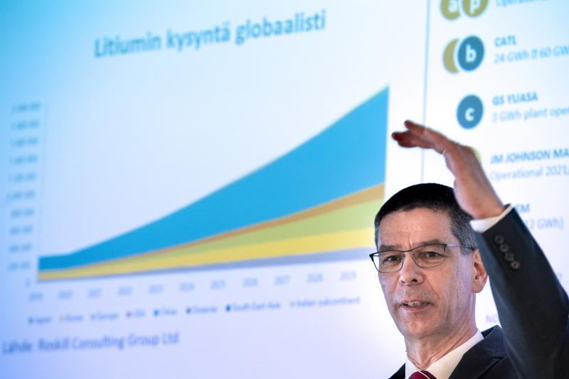 Keliberin toimitusjohtaja Hannu Hautala kertoi yhtiön näkymistä tiistaina Kokkolassa.