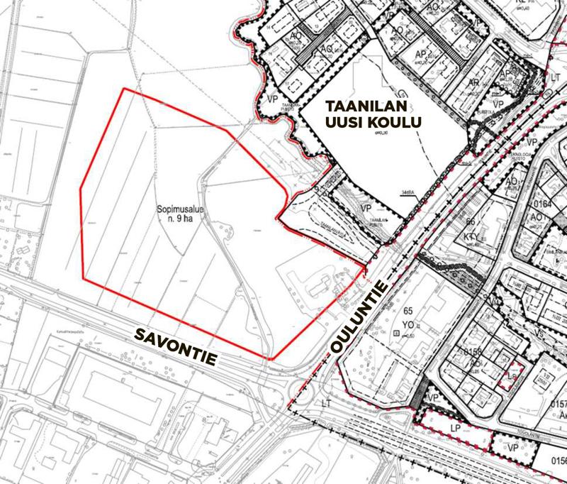 Taanilaan on varattu paikka erikoiskaupan suuryksikölle, jonka toteuttamisen käytännön työstä vastaa WasaGroup.