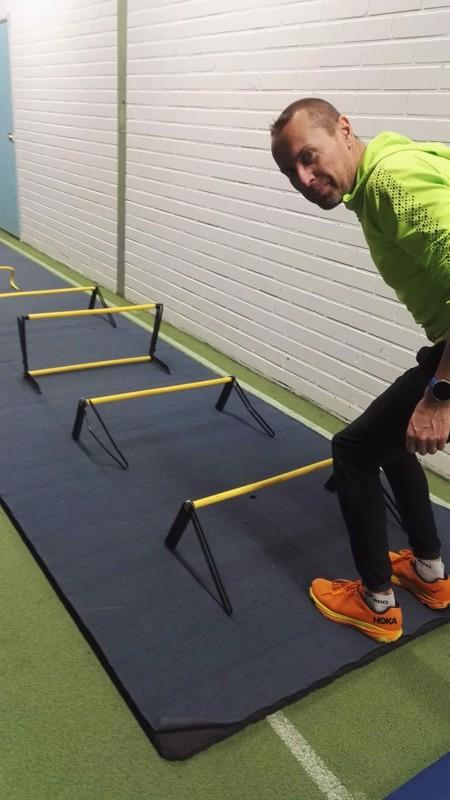Ari Siipola harrastaa liikuntaa monipuolisesti.