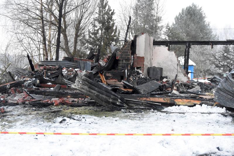 Kaustisella kaksi kuolonuhria vaatineesta tulipalosta ei jäänyt paljoa tutkittavaa materiaa.