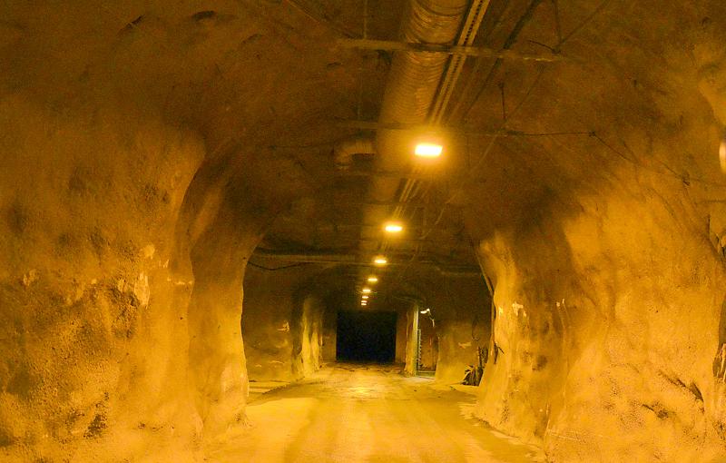 Pyhäsalmen kaivoksessa on yli 100 kilometriä pitkä kaivostunneliverkosto, joka soveltuu erinomaisesti alan koulutustarpeisiin.