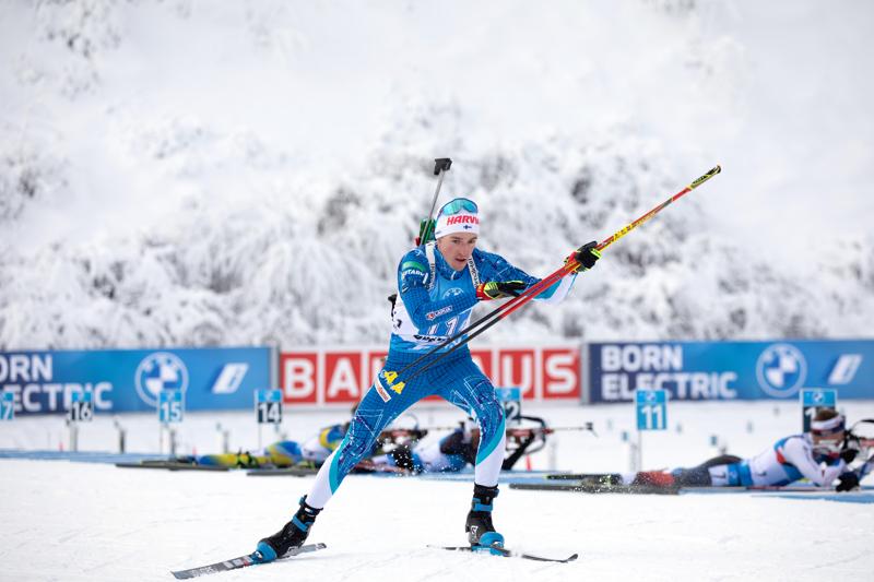 Tero Seppälä onnistui lauantaina ampumapaikalla.