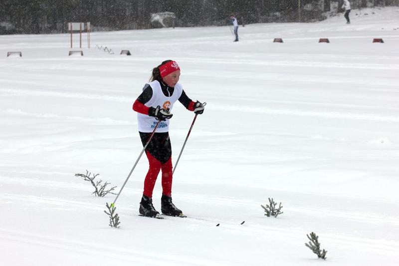 HU:n Ronja Aarnio oli seitsemäs T12-sarjan kolmella kilometrillä.