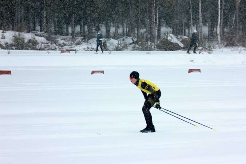 Kannuksen Uran Oliver Lastikka hiihti toiseksi Himangalla.