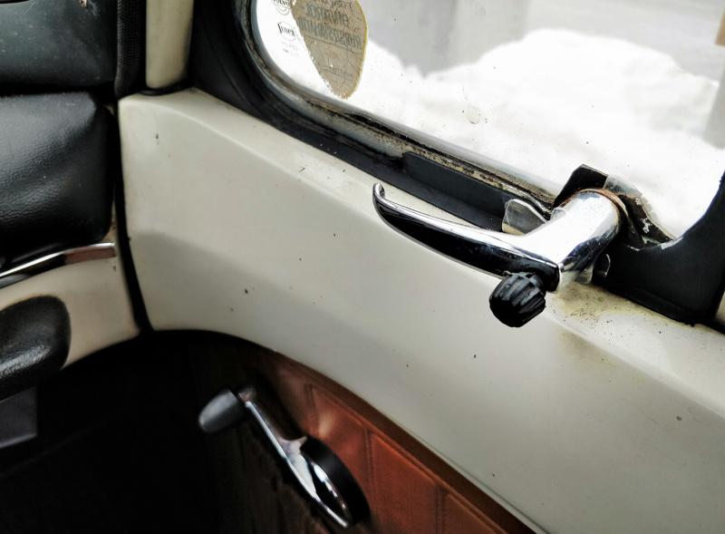 Vanhasta autosta löytyy erikseen sivuikkuna.