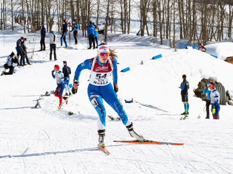 Nivalan lukiota kolmatta vuottaan käyvä Tuuli Järviluoma kuuluu Nivalan harrasteakatemiaan, joka mahdollistaa harjoittelun kahtena kouluaamuna viikossa.