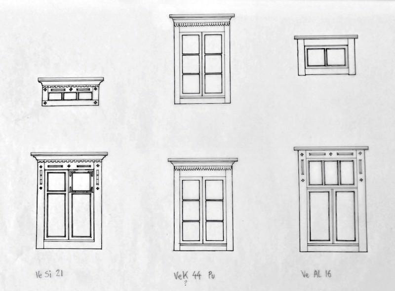 Tutkimusarkkitehti George Woolston keräsi tietoja paikallisesta rakennuskulttuurista. Hänen kokoelmista löytyy rakennepiirroksia vanhoista taloista, kuisteista ja ikkunakoristeista.