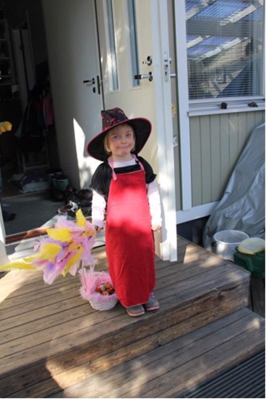 Trullina Maisa Kauppinen, 5 vuotta.