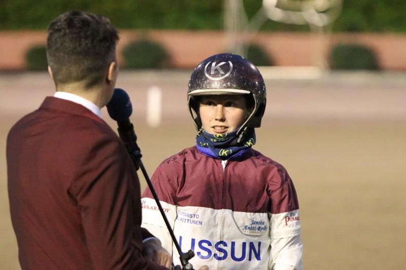 Janita Antti-Roiko sai viime viikolla jälleen uuden hevosen valmennukseensa.
