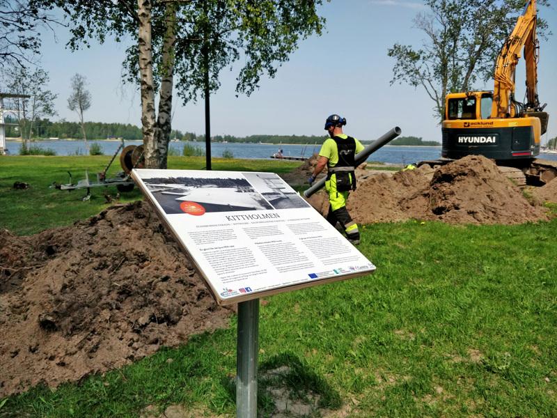 Kaikenikäisille suunnattu leikki- ja liikuntapuisto  tarkoitus sijoittaa Vanhan sataman uimarannan välittömään läheisyyteen.