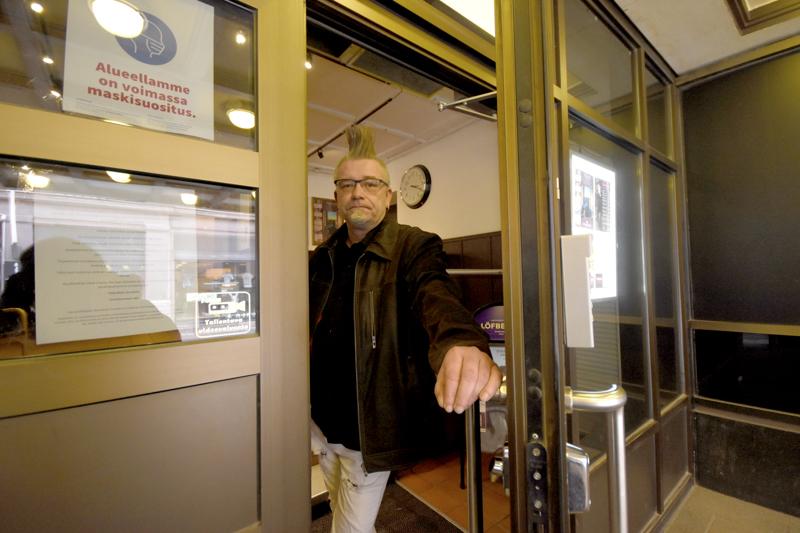 Kokemus ry:n Mika Hietanen toivoo, että ensi vuonna Pääsiäisjamit pystytään järjestämään normaalisti Seurahuoneella.
