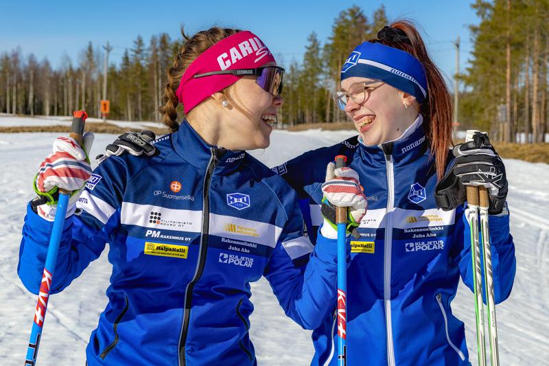 Koronatalvi on vain syventänyt Viivi Jylängin ja Riina Taskilan ystävyyttä.