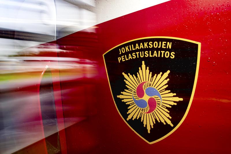 Pelastuslaitos hälytettiin hoitamaan öljyvahinkotehtävää.