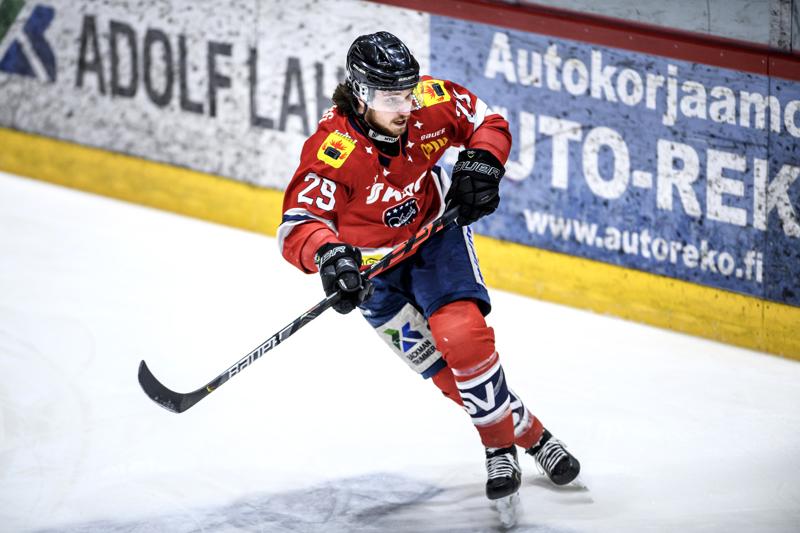 Zdenek Sedlak on löytänyt hurjan maalivireen Mestiksen pudotuspeleissä.
