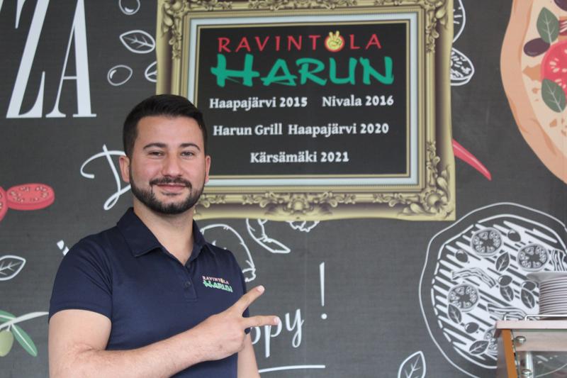 Harun Altundal avasi kolmannen Ravintola Harunin Kärsämäelle. Hänellä on myös Harun Grill Haapajärvellä.