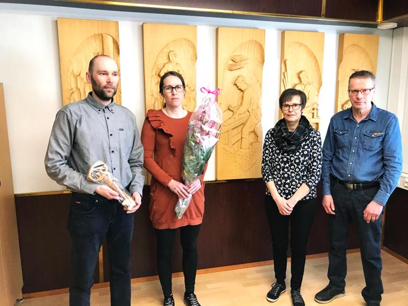Antti (vas.) ja Tiina Konttila ostivat Sorvi-Pojat Oy:n osake-enemmistön Lea ja Jukka Tölliltä maaliskuun lopussa.