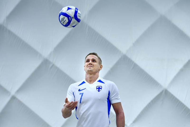 Jarmo Junno alusti komealla syötöllä Iiro Vanhan tekemän 2-1 -maalin Belgiaa vastaan.