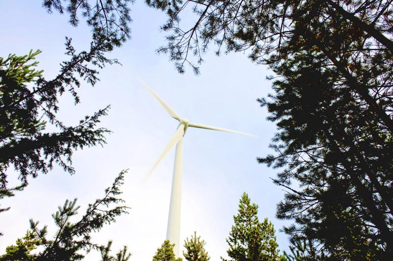 Myös Vapo haluaa saada Halsualle tuulivoimaa turvenevalle.