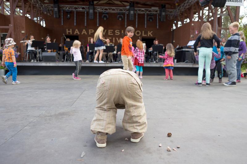 Festarimenoa takavuosilta. Haapavesi Folkin järjestäjät luottavat, että ensi kesän festivaalit eivät mene pyllylleen.