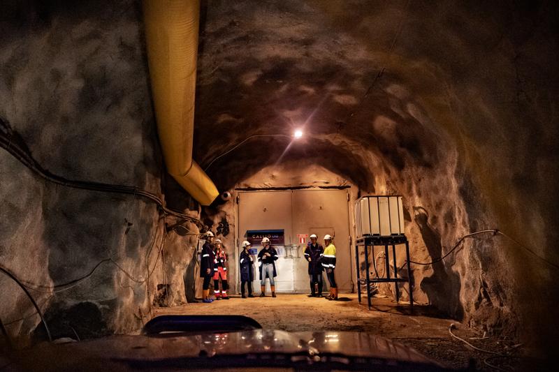 Pyhäjärvellä on kymmeniä kilometrejä kaivoskäytäviä
