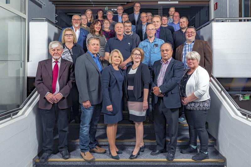 Haapaveden kaupunginvaltuustosta ja johtavista viranhaltijoista otettiin syyskuussa 2020  yhteiskuva. Ilkka Repo ei osallistunut valokuvaukseen.