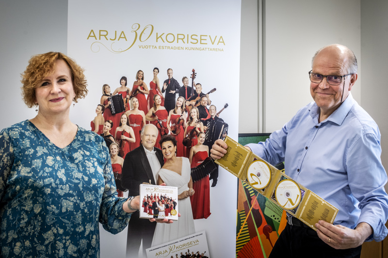 Anne Brandt ja Raimo Vertainen toivovat, että Guardia Nuevaa voisi kesällä kuulla live-levyn lisäksi live-konserteissa.