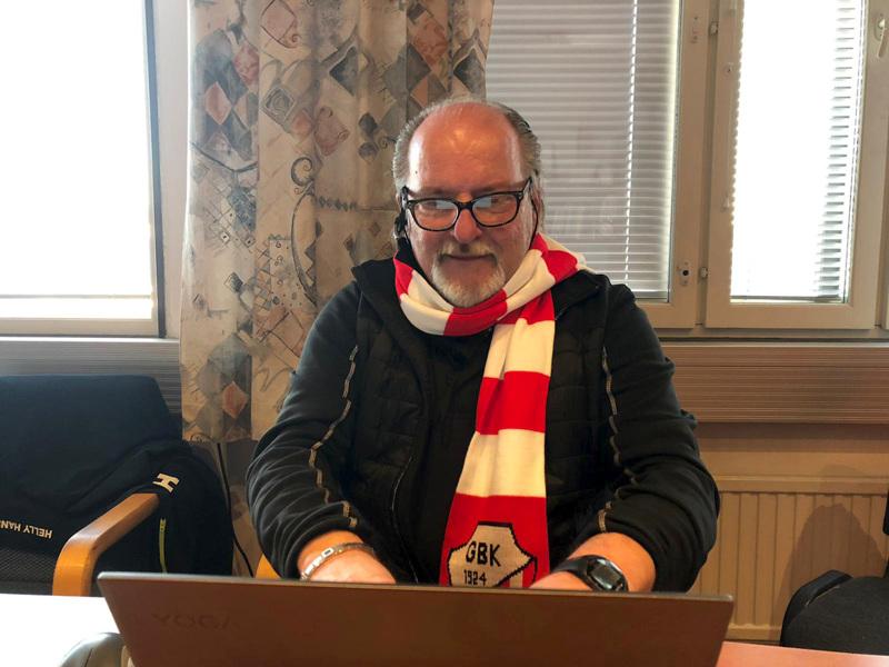 Turnausvastaava Stefan Thylin toivoo, että GBK voi järjestää niin normaalin turnauksen kuin se vain on mahdollista.