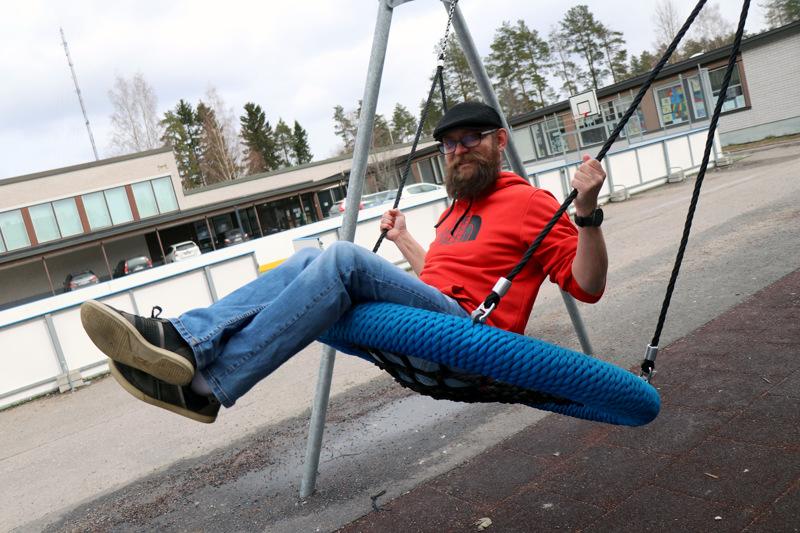 Matti Kuusela on toiminut Vetelin koulunuorisotyöntekijänä vuoden alusta lähtien.